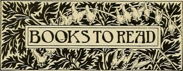 """Sign that reads: """"Books to Read"""""""