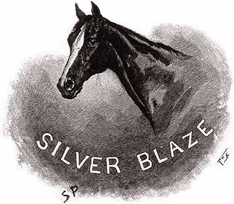 A portrait of the horse, Silver Blaze