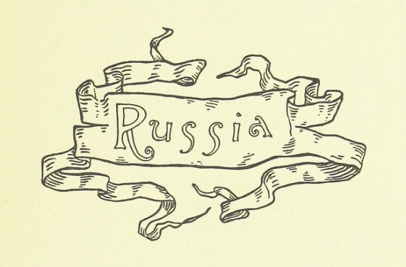 "Sign reading: ""Russia"""