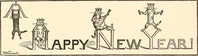 "Sign reading: ""Happy New Year!"""