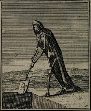 A picture of Death, The Grim Reaper