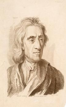 Drawing of John Locke