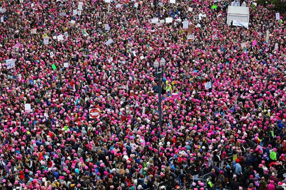 Photo of the Women's March on Washington