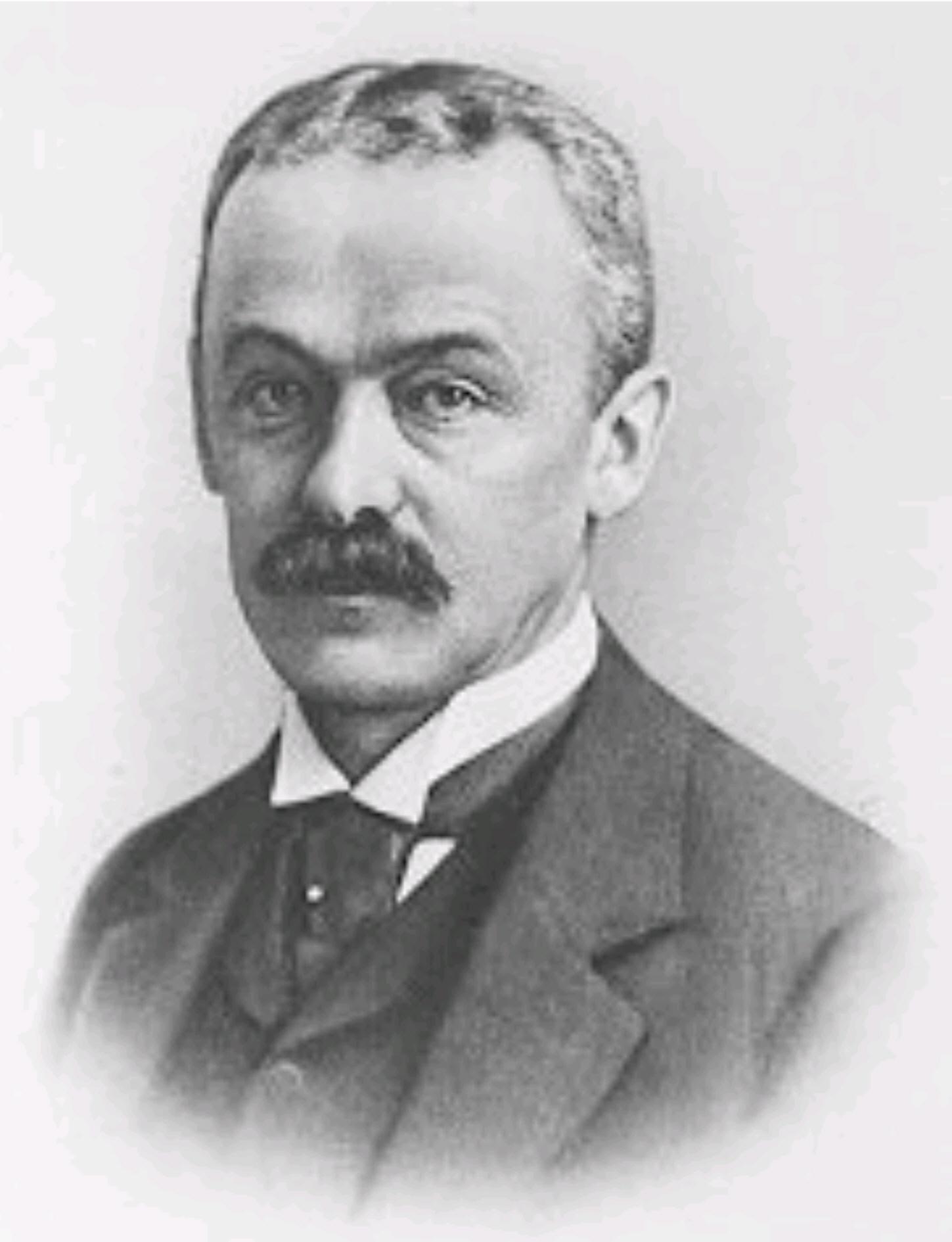 Portrait of Franz Oppenheimer