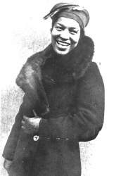 Portrait of Zora Neale Hurston