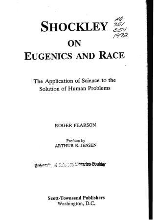 Front page of a book entitled